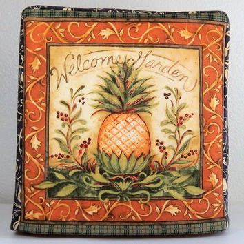 Kitchenaid Mixer Cover, Pineapple Decor, Artisan Mixer Cover, Tilt Head Mixer Cover