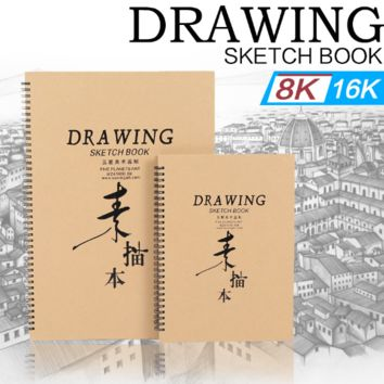 Drawing Sketch Book 8K 16K