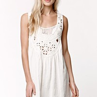 Billabong Just Beachin Dress - Womens Dress - White - Small