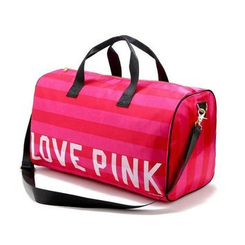 DCCKSP2 Pink: portable Shoulder Messenger gym bag