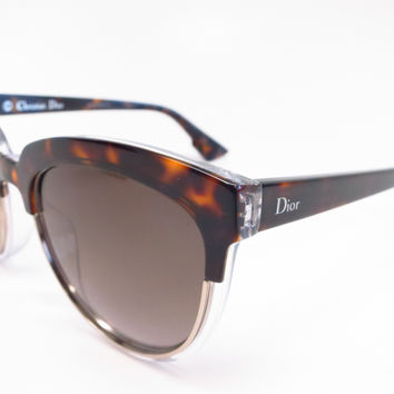 Dior Sight 1 RELHA Havana Crystal Sunglasses