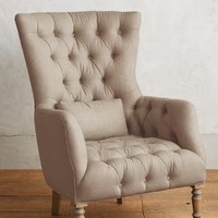 Linen Julienne Chair by Anthropologie