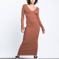 Fall Vibes Maxi Dress