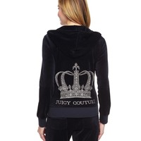 LOGO VELOUR CRYSTAL CROWN ORIGINAL JACKET