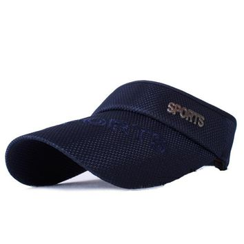 2018 New Hot Selling Tennis Caps Stylish Women Men Unisex Beach Sports Sun Visor Hat Golf Caps summer travel sun hat outdoor