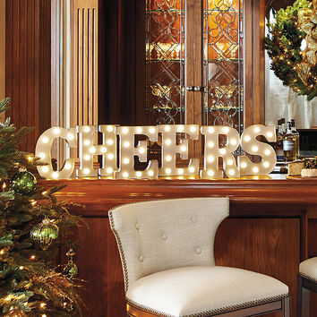 Marquee Letters: CHEERS