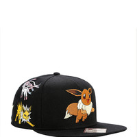 Pokemon Eevee Evolution Characters Snapback Hat