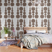 Bohemian Pattern 2 Wallpaper by vanessagf
