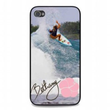 Surfing Bethany for iphone 4 and 4s case