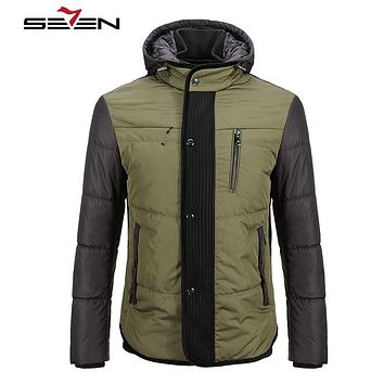 Winter Warm Casual Men Jackets And Coats Thick Parka Men Outwear Cotton Military