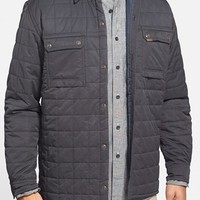 Men's Timberland 'Miller' Water Resistant Quilted Shirt Jacket