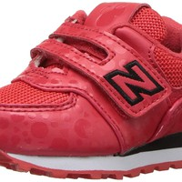 New Balance Kids' 574v1 Disney Hook and Loop Sneaker