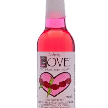 Alchemy Love Rose and Lime Syrup Concentrate 250ml