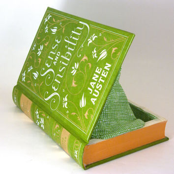 Book Clutch - Book Purse - Sense and Sensibility by Jane Austen- christmasinjuly