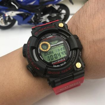 KUYOU C015 Casio G Shock GWF-1000 Plastic Straap Frogmman Resist Fashion Electronic Watches Black Red Gold