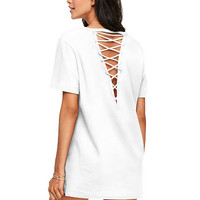 Campus Strappy Back Tee - PINK - Victoria's Secret