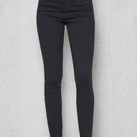 PacSun Black Double Button Super High Rise Jeans at PacSun.com