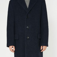 "Dark blue oversized coat ""Rusty"" 