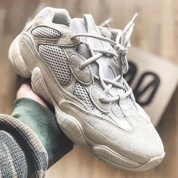 Adidas Yeezy Boost 500 Desert Rat Fashion New Couple Sneakers Sport Running Shoes