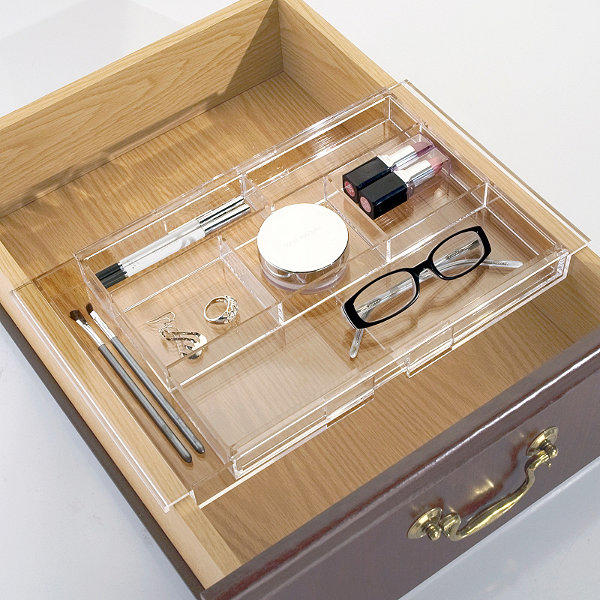 Acrylic Hanging Drawer Organizer From Frontgate Vanity
