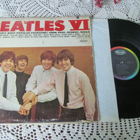 BEATLES IV Vinyl Record Album TurnTable Music Early Rock and Roll Music 1968 Recorded in England
