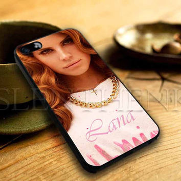 Lana Del Rey  For iphone 4/4s, iphone 5/5s,iphone 5c, samsung s3 i9300 case, samsung s4 i9500 case in SLENTHENK