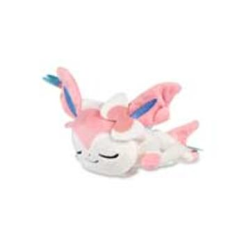 Sleeping Sylveon Kuttari Cutie Poké Plush