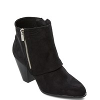 Double Zip Fold-Over Bootie by Qupid®