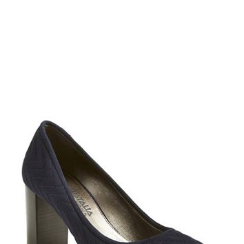 Women's Aquatalia by Marvin K. 'Val' Weatherproof Quilted Pump,