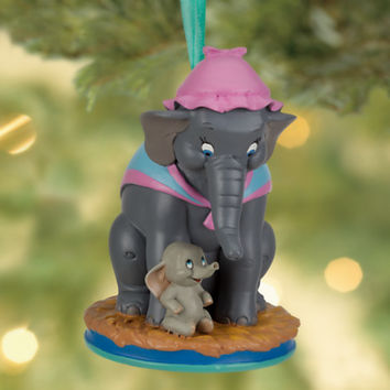 Disney Dumbo and Mrs. Jumbo Sketchbook Ornament | Disney Store