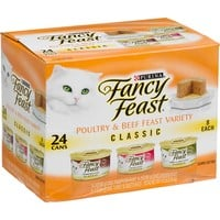 Fancy Feast Poultry & Beef Classic Variety Pack Adult Canned Cat Food