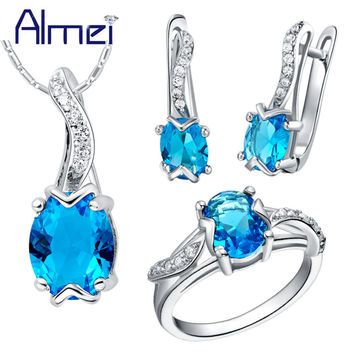 Jewelry Set 925 Sterling Silver