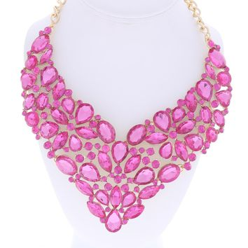 Dressy Necklace and Earring Set