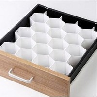 Honeycomb Drawer Organizer Storage Divider Socks Underwear Arts & Crafts Desk-2 Packs
