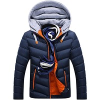 Casual Hooded Coat for Men