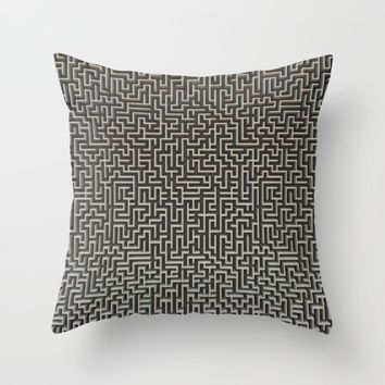 No Way Out Throw Pillow by Lyle Hatch