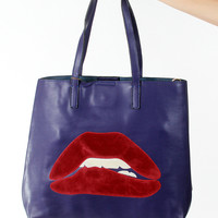 Watch Those Lips Tote
