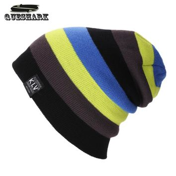 2018 Winter Warm Snowboard Winter Knited Hat Skating Ski Caps Snowmobile Hat for Men Women Hip Hop Cycling Caps Thermal