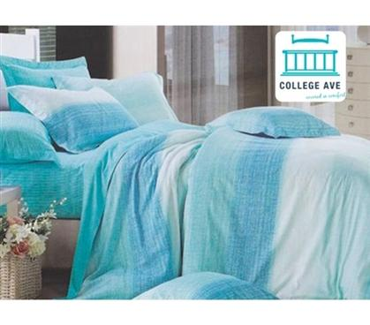 aqua sands dorm bedding for girls twin xl from dormco roomstuff. Black Bedroom Furniture Sets. Home Design Ideas