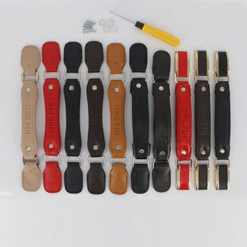 Luggage Accessories Handle General Trolley Suitcase Accessories Hand Luggage Telescopic Leather handle Replacement Handles