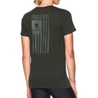 Under Armour Women's Wounded Warrior Project Freedom Flag T-Shirt| DICK'S Sporting Goods