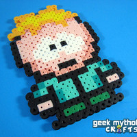 SOUTH PARK Butters Stotch Perler Bead Sprite Character