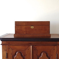 Cashbox // Teak // British Colonial