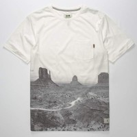 HIPPYTREE Plateau Mens Pocket Tee | Graphic Tees