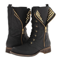 Steve Madden Barney Black Leather - Zappos.com Free Shipping BOTH Ways