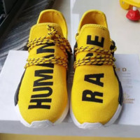 Shoes Sports HUMAN Race X Men Women Sneakers Run Basketball QUALITY Fashion NMD