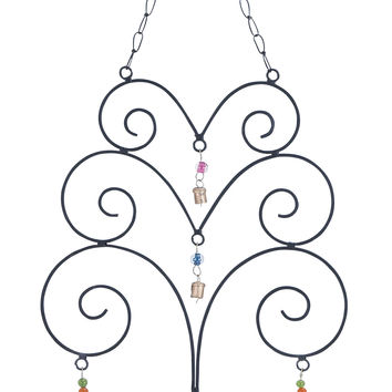 Wind Chime With Eclectic With Abstract Design