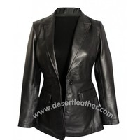 Captain America Scarlett Johansson Leather Jacket | DesertLeather