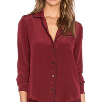 Sophia Top in Wine