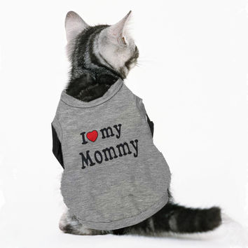 I Love My Mommy & Daddy Vest
